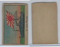 W Card, Naval Strip Card, 1920's, #11 Japan Warship