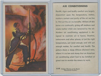 W608-5 Educational, Modern Wonders, 1950's, #6 Air Conditioning