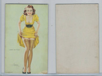 W424-2a Mutoscope, All American Girls, 1941, Jutht My Thize