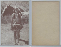 W Card, American Indians, 1950's, Arapaho Indian Brave