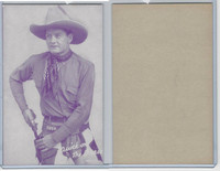 W Card, Cowboys Stars, Magenta, 1950's, Quick on The Draw (2)