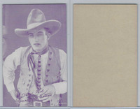 W Card, Cowboys Stars, Magenta, 1950's, Dead Shot Ready For Action