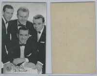 W Card, Exhibit, Salutations Male Singers, 1960's, The Four Lads