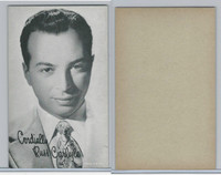 W Card, Exhibit, Band Leaders, 1950's, Russ Carlyle