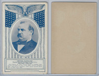 W Card, Exhibit, Famous Americans, 1920's, Grover Cleveland