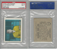 W536-2 Ed-U-Cards, Lone Ranger, 1950's, #116 An Introduction, PSA 7 NM