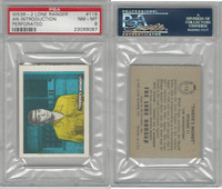 W536-2 Ed-U-Cards, Lone Ranger, 1950's, #116 An Introduction, PSA 8 NMMT