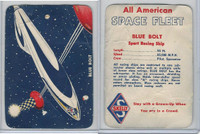 UO67 Skelly Gasoline, All American Space Fleet, 1953, Blue Bolt