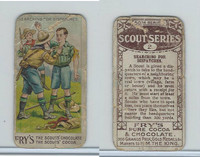 V39  J.S. Fry, Scout Series, 1912, #2 Searching For Dispatches