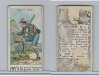 V39  J.S. Fry, Scout Series, 1912, #11 Scout Signs