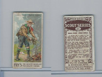 V39  J.S. Fry, Scout Series, 1912, #20 Signal Fires