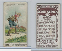 V39  J.S. Fry, Scout Series, 1912, #23 Woodcraft Tracking