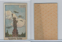 W Card, Mayfair Novelty, American History, 1919, 1918 Statue of Liberty