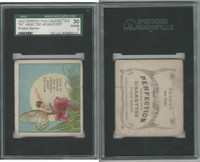 T97 Perfection, Riddle Series, 1910, What Did Adam, SGC 30 Good