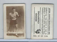 1949 Topps, Magic Photos, Boxing Champions, A #21 Rinty Monaghan