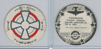 M30 St. Louis Globe, Seal Craft Disc, 1930's, Aircraft Ins., #6 Yugoslavia