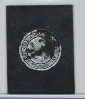 L20 American Tobacco Leather, College Seals, 1912, Amherst (Purple)