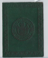L23 American Tobacco Leather, State Seals, 1912, Delaware (Green)