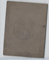 L23 American Tobacco Leather, State Seals, 1912, Maryland (Gray)