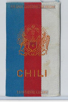 S14 American Tobacco Silk, National Arms, 1910, Chili