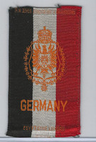 S14 American Tobacco Silk, National Arms, 1910, Germany