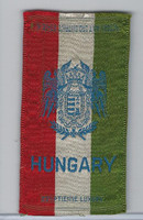 S14 American Tobacco Silk, National Arms, 1910, Hungary