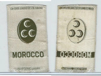 S14 American Tobacco Silk, National Arms, 1910, Morocco