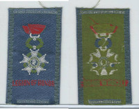 S17 ATC Silk, Military & Lodge Medals, 1910, Legion Of Honor