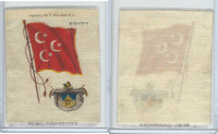 S38 American Tobacco Silk, Flags & Arms, 1910, Egypt