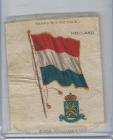S38 American Tobacco Silk, Flags & Arms, 1910, Holland