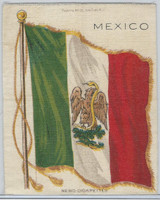 S30 American Tobacco Silk, National Flags, 1910, Mexico (5 X 6.5 in)