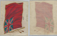 S31 American Tobacco Silk, National Flags, 1910, England (5 X 6.5 in)