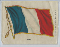 S31 American Tobacco Silk, National Flags, 1910, France (5 X 6.5 in)
