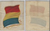 S31 American Tobacco Silk, National Flags, 1910, Romania (5 X 6.5 in)