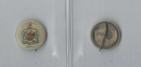 P10 American Tobacco Pins, State Arms, 1898, Arkansas