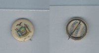 P10 American Tobacco Pins, State Arms, 1898, New York