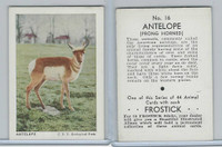 F55 Frostick, Animal Cards, 1933, #16 Antelope