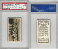 L8-98 Lambert, Who's Who In Sports, 1926, #11 Cambridge, Rowing, PSA 5 EX