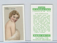 G12-100 Gallaher, Stars Of Screen & Stage, 1935, #13 Enid Taylor