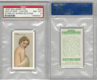 G12-100 Gallaher, Stars Of Screen & Stage, 1935, #13 Enid Taylor, PSA 8 NMMT