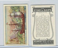 M164-52 Murray, Story of Ships, 1940, #13 The Golden Hind, 1581