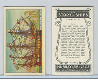 M164-52 Murray, Story of Ships, 1940, #14 The Ark Royal, 1587