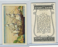 M164-52 Murray, Story of Ships, 1940, #16 Galleon, 1598