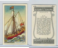 M164-52 Murray, Story of Ships, 1940, #21 Yacht, 1663