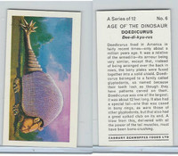 C0-0 Cabury Schwepps, Age of the Dinosaur, 1971, #6 Doedicurus