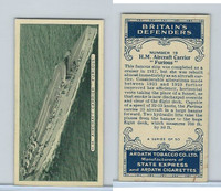 A72-14 Ardath Tobacco, Britain's Defenders, 1936, #19 HM Furious