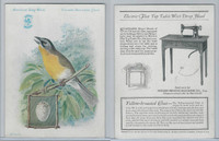 H684 Singer Sewing, American Song Birds, 1926, Yellow Breasted Chat
