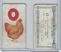 C28 Imperial Tobacco, Poultry Alphabet, 1924, #15 Oppington Chicken