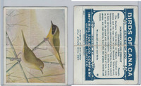 C2 Imperial Tobacco, Birds Of Canada, 1920's, #85 Northern Yellow Throat