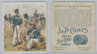 H606 J&P Coats, Uniform Of The Army of the United States, 1890's, 1813-1821 (2)